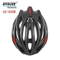 PMT straße radfahren helm 2019 große größe 62 65cm fahrrad spezialisieren fahrrad helme für männer MTB mountainbike helm 26 löcher 255g XL-in Fahrradhelm aus Sport und Unterhaltung bei