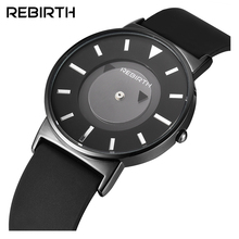 REBIRTH Fashion Men Women's Watches Lover Ladies Watch Clock Stylish Business Military Quartz Sport Wrist Watch RE035