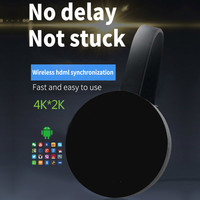 5G 4K Wireless TV stick WiFi Mirroring Cable HDMI Adapter 1080P Display Dongle for Android Phone to TV