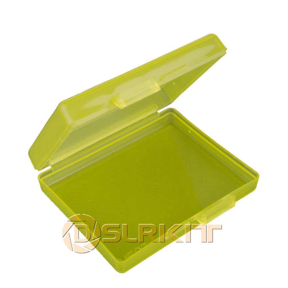 5 ピース/ロットホワイトハードプラスチックケースホルダー収納ボックスバッテリー EN-EL12 NP-BG1/FG1 NP-BX1 NP-BN1 SD カード....