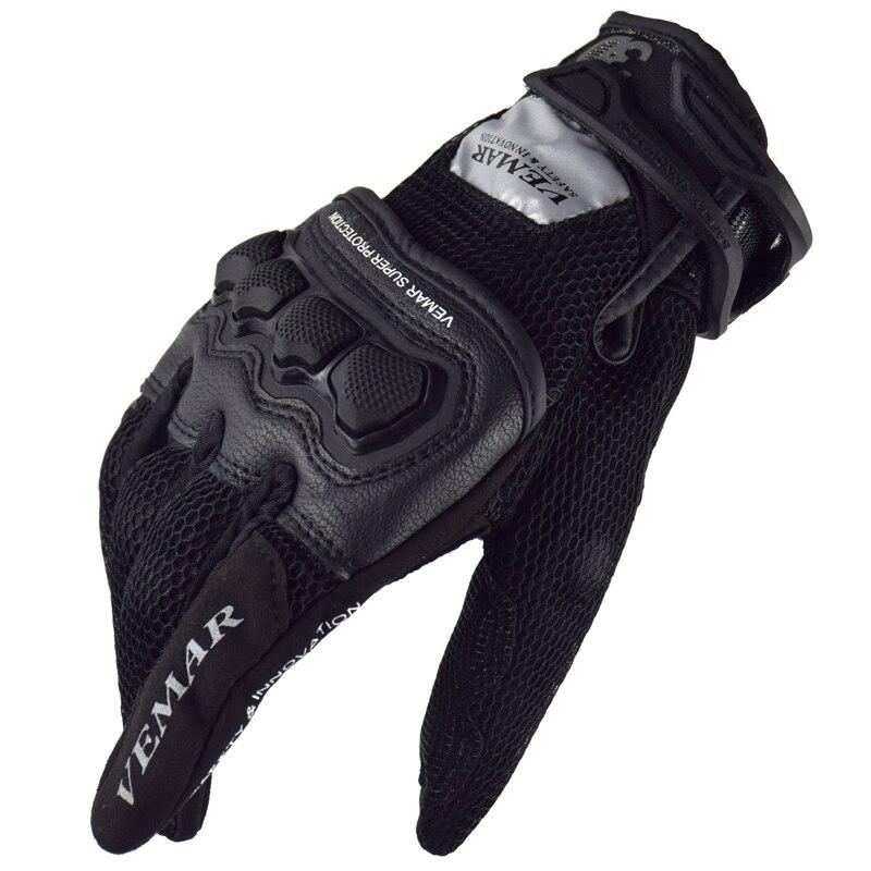 Motorbike Gloves Summer Protection Glove Motocross Racing MTB Screen Touch Dain Cycling Bike Alpine Guantes Moto Luvas Stars