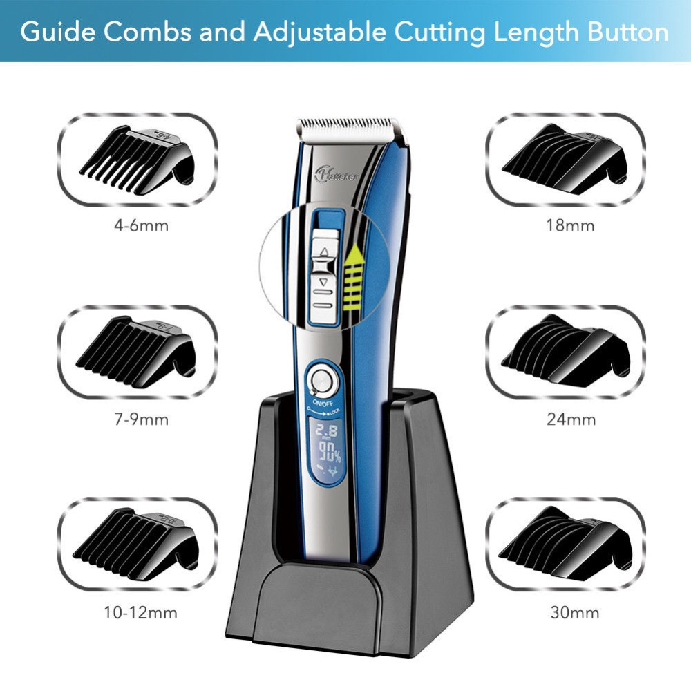 Image 3 - barber professional hair clipper electric hair trimmer beard trimer for men electric cutter hair cutting machine hair cut tool-in Hair Clippers from Home Appliances