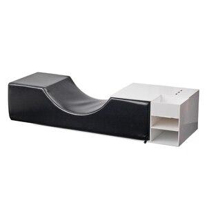 Image 4 - まつげエクステンション専門枕、特別使用のためのグラフトまつげエクステンション、革とフランネル枕
