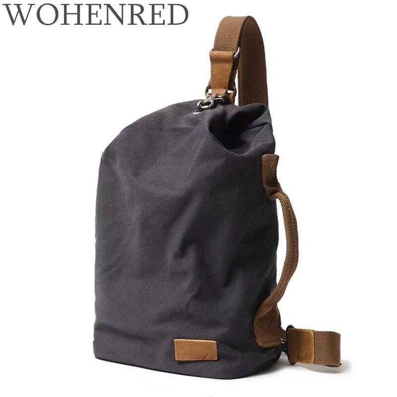 Casual Men's Messenger Bags Vintage Canvas Male Travel Organizer Bag High Quality Hobos Multifunction Men Crossbody Shoulder Bag