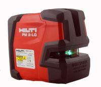 Hilti poziom lasera PM 2 LG laser liniowy liniowy wskaźnik laserowy projektorach zielony laser linii w Części i akcesoria do instrumentów od Narzędzia na