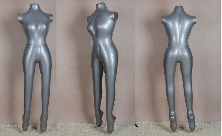 Inflatable Mannequin Torso Underwear Dress Model PVC Female Full Body 168Cm 1pc