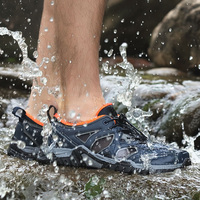 2018 Outdoor Sport Hiking Shoes Tactical Shoes For Men Lightweight Walking Boots Upstream Shoes For Summer Big S