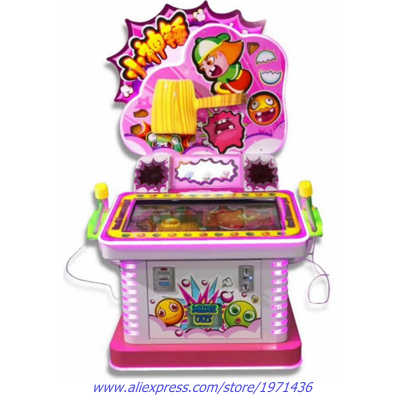 Hammer Hitting Video Games Amusement Token Coin Operated Arcade Gift Prize Tickets Redemption Game Machine For Kids and Adults
