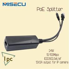 New POE Splitter Power Over Ethernet Splitter 10/100mbps IEEE802.3at/af 12V/2A 24W POE Splitter For IP Camera ,PoE splitter