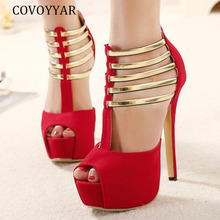 COVOYYAR High Heels Shoes Woman Sexy Pumps Women Sh