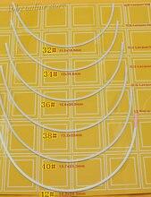 Şekillendirme cila Underwires sutyen yapımı için kaynağı iç çamaşırı şekillendirici büstiyer büstü Buxom 12 çift/grup