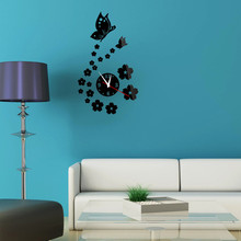 New DIY Mirror Wall Sticker Butterfly On The Wall Stickers On The Wall Wall Stickers For Kids Rooms Butterfly Decoration Paste writing on the wall