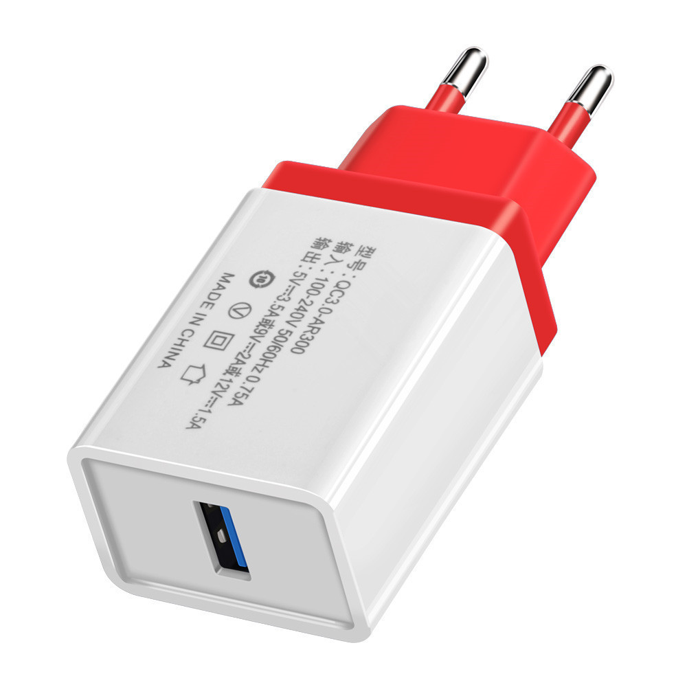 b0c4c9bacd0 Carga rápida 3,0 USB 2,0 enchufe de la UE del cargador de pared 5 V 3.5A  rápido adaptador de carga para Samsung Xiaomi tabletas cargador de teléfono  móvil