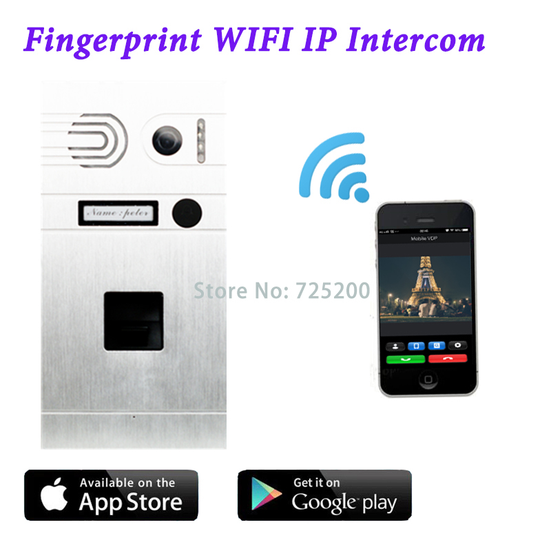 3G 4G WiFi IP Intercom System Android/Iphone Fernbedienung ...