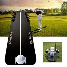 Putting Spiegel Training Uitlijning Draagbare Spiegel Golf Aid Uitlijning Gereedschappen Indoor & Outdoor Putting Tutor Golf Accessoires