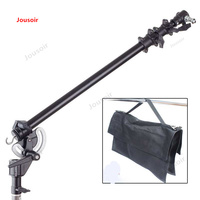Photography with turntable transverse arm oblique arm with rotary clamp extension rod/Crossbar length 150cm CD50 T03