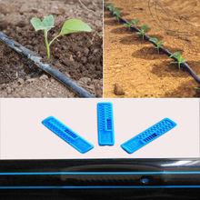 NuoNuoWell Garden Drip Belt Watering System 16MM Flat Streamline Soaker Hose Sprinklers Irrigation Kit For Agricultural Garden