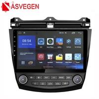Asvegen Car Radio GPS Navigation For Honda Accord 7th 2003 2007 Android 6.0 1024*600 Quad Core 10.1 Stereo Multimedia Player