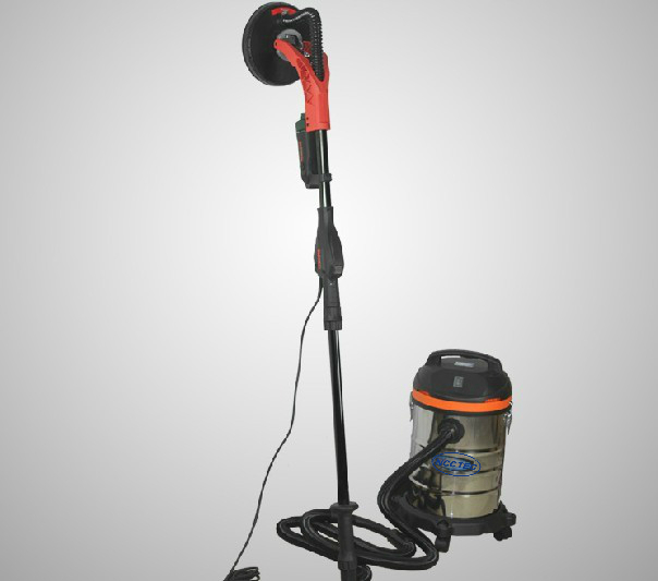 9 Inch 225mm Wall Ceilings Sander With 30l Vacuum