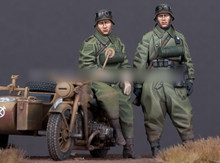 [tuskmodel] 1 35 scale resin model figures kit WW2 A144(China)