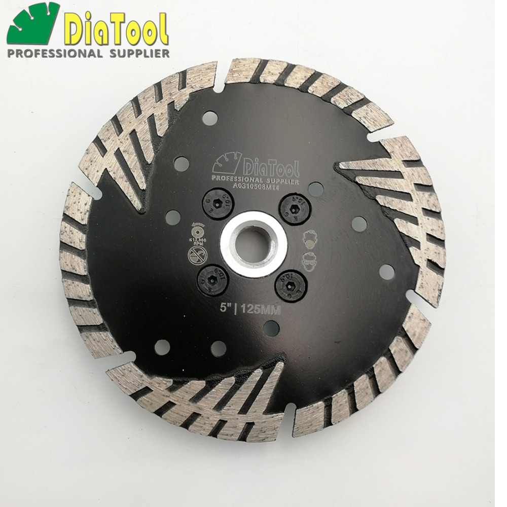 Diameter 5/125MM Diamond saw Blade cutting discs Deep teeth protect the core with M14 FLANGE granite masonry concrete Wheel 12 72 teeth 300mm carbide tipped saw blade with silencer holes for cutting melamine faced chipboard free shipping g teeth