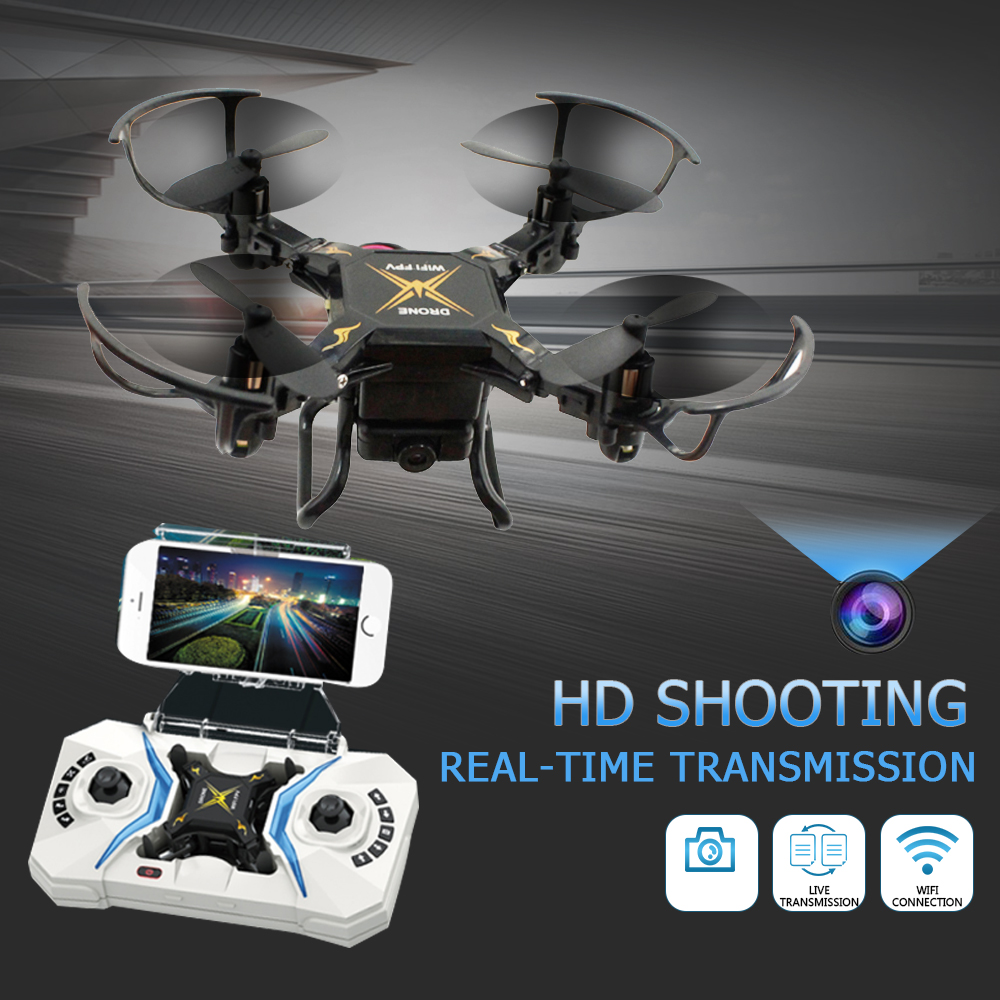 Premium High Performance Mini Drone UAV APP Remote 0.3MP Camera One Key Take Off Speed Adjustable Quadcopter