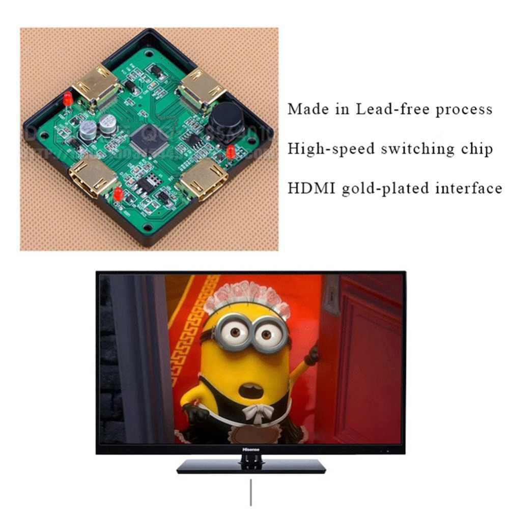 1 Pcs Mini 3 Port HDMI HD Switch Switcher Box HDMI Splitter HDMI Port untuk HDTV 1080 P Vedio Di saham Mendukung 1080 P 3D 2017 Baru