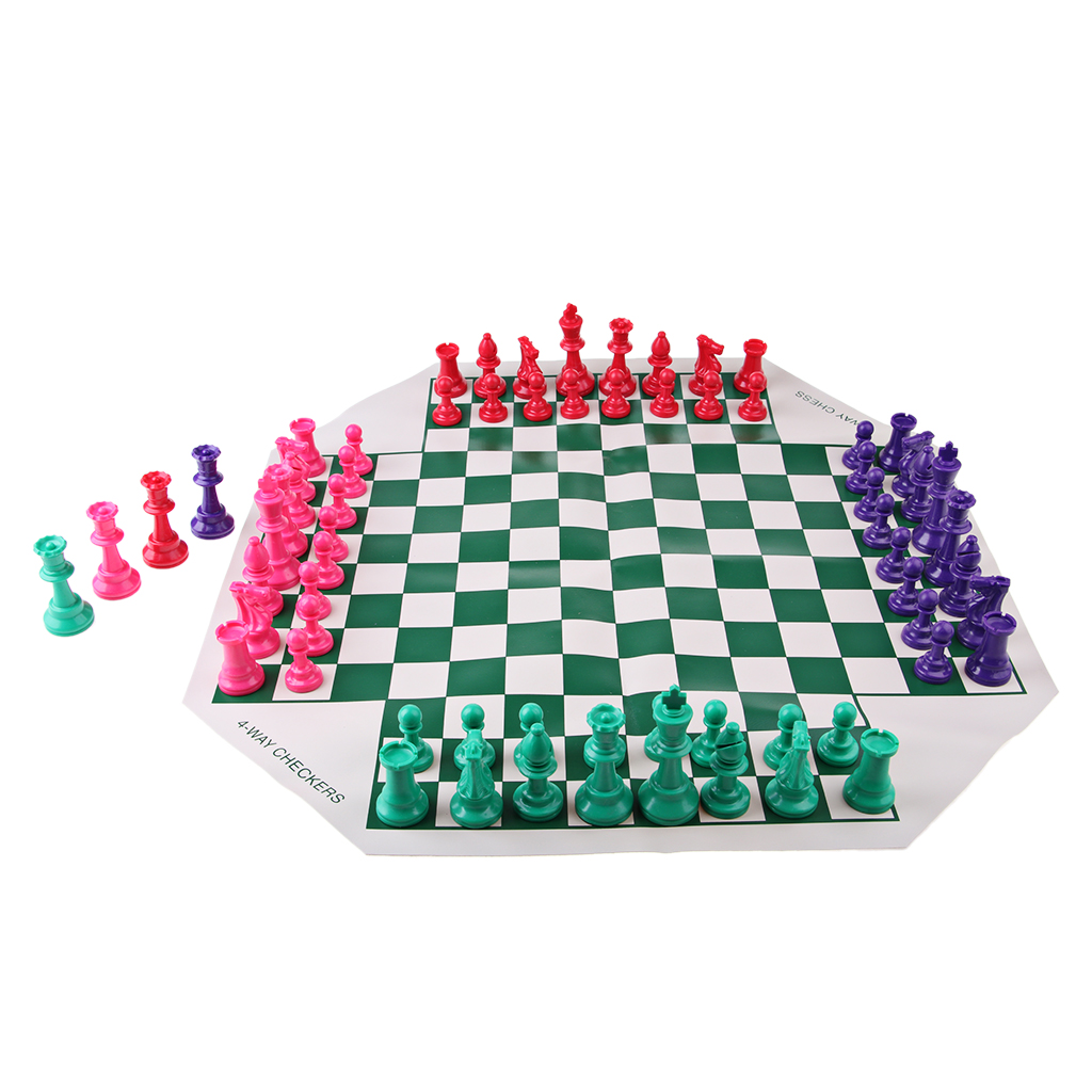 Soft Folding Chess Board Chessman Portable Set High Quality Games Camping Travel Home