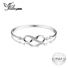 Jewelrypalace Forever Love Бесконечность юбилей браслет стерлингового серебра 925 украшения свадебной моды браслет для женщины