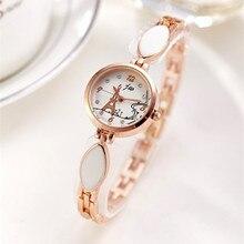 2019 Women Fashion Bracelet Watches Luxury Brand JW Rose Gold Quartz Watch Ladies Stainless steel Dress Wristwatches Clock Gifts