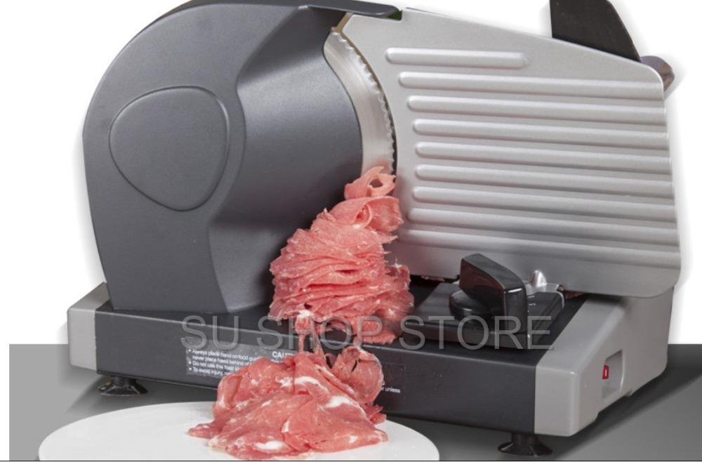MINI electric meat slicer mutton roll frozen beef cutter lamb Vegetable cutting machine stainless steel mincer