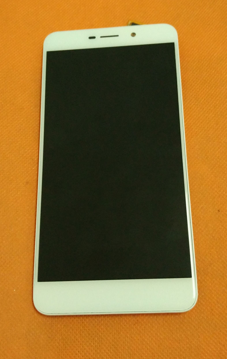 Used Original LCD Display Screen + Touch Screen + Frame for UMI Super MTK6755 Octa Core 5.5 FHD 1920x1080 Free Shipping
