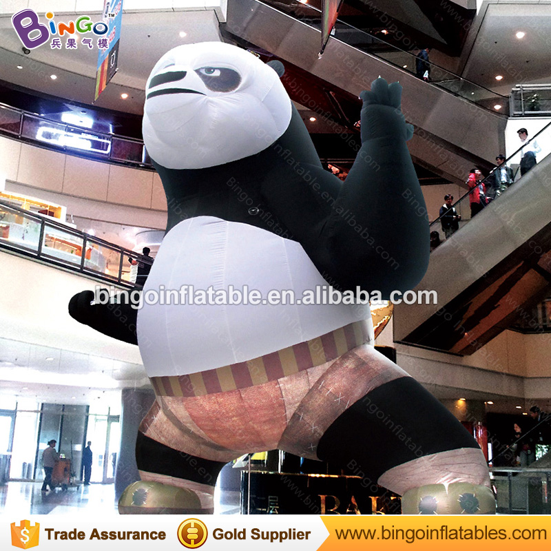 Huge Inflatable panda 5M / 16ft Inflatable panda bolloons movie toys for playgrounds/ event decoration toys giant christmas inflatable santa claus for party event decoration 16ft 5m high bg a0344 21 toy