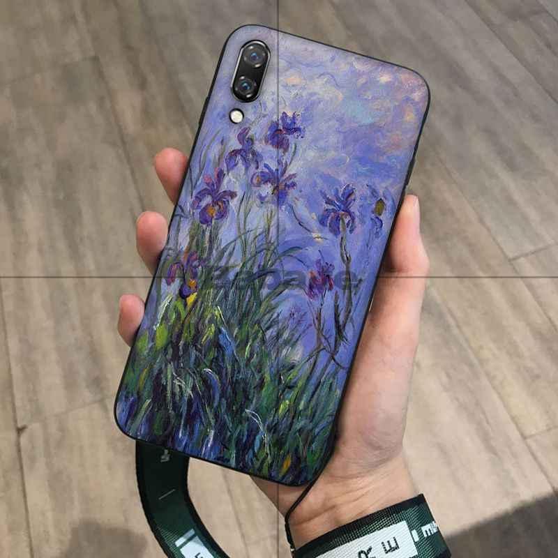 Babaite Claude Monet Chủ Nghĩa Ấn Tượng Họa Sĩ Điện Thoại dành cho Huawei Mate10 Lite P20 Pro P9 P10 Plus Mate9 10 Danh Dự 10 quan điểm 10