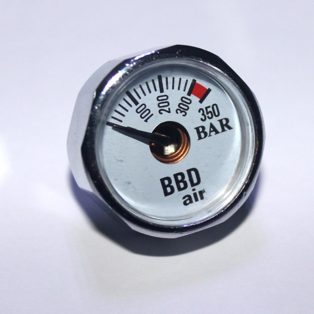 Paintball Airsoft PCP AirGun Mini 350bar manométer lámpás - Lövés - Fénykép 2
