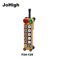 JoHigh F24 12S Industrial Hoist Crane remote controller Transmitter 12 Button Switches