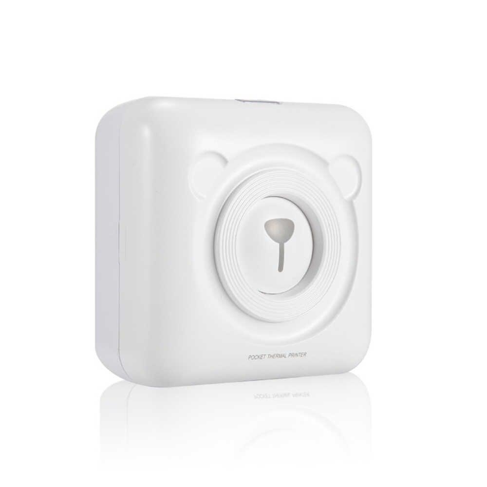 Mini Portátil Bluetooth Da Impressora Térmica Mini POS Sem Fio Imagem Foto Impressora Térmica para Android IOS Telefone Móvel