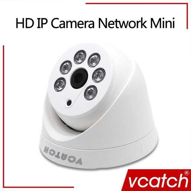 Vcatch 720 P IP Камера Открытый безопасности CCTV Камера Поддержка Hikvision/dahua NVR домашней видеонаблюдения HD Mini Dome Камера h.264