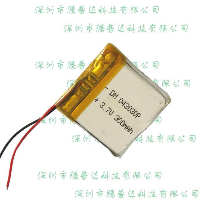 403030 Bluetooth ポリマー電池 3.7V 380 ミリアンペア時固定ワイヤレス固定充電式バッテリー