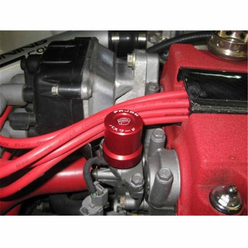 Solenoid Valve Cover For Honda B-series D-series H-series Accord Civic Red
