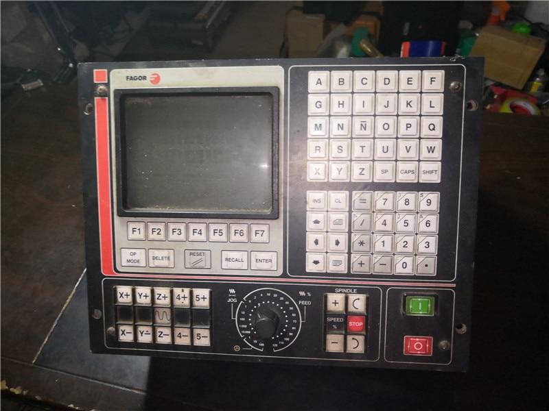 CNC FAGOR 8025 GP-l usado em bom estado pode normal de trabalho
