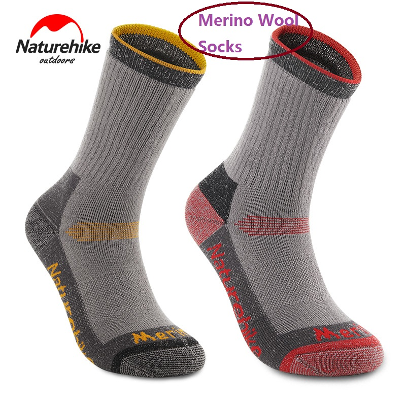 NatureHike Men Women Socks Outdoor Sock Sport Socks Winter Thermal Socks For Snow Peak Hiking Camping
