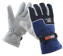 GLV996 A Outdoor fleece winter font b gloves b font windproof cycling warm sports font b