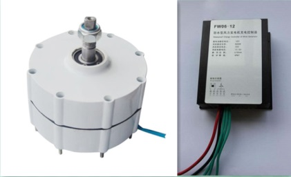 DC 500W 12V 24V 48V Low Speed PM Generator Permanent Magnet Alternator