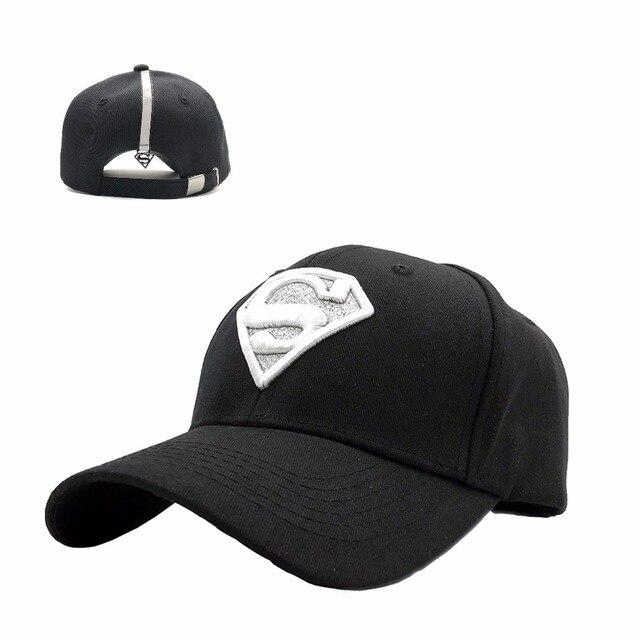 5823fbb456b Women Men Shiny Diamond superman Cotton Baseball Caps Gorras planas S  Embroidery Hip Hop Casquette Snapback hats trucker cap