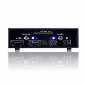 Image 2 - Nobsound аудио компаратор, кроссовер, сеть, стерео, 2 сторонний усилитель/переключатель динамиков, Пассивный селектор