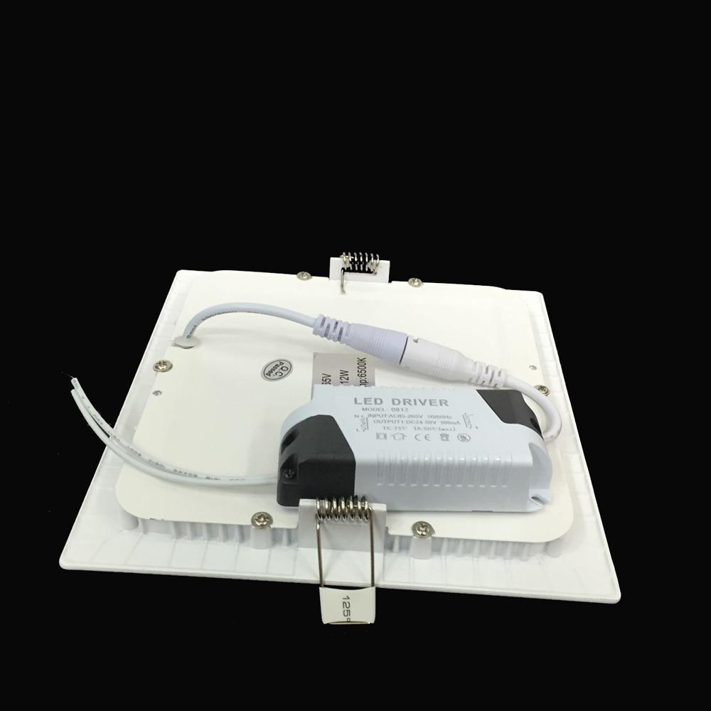 Ultradünne 3W 6W 9W 12W 15W 18W 24W LED Downlight Quadratische - Innenbeleuchtung - Foto 3