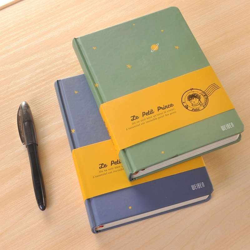 Vintage Color Page Notebook The Little Prince School Office Supply Accessory Diary Book Notepad Retro Stationery WJ-XXWJ277- shazdeh ehtejab the prince