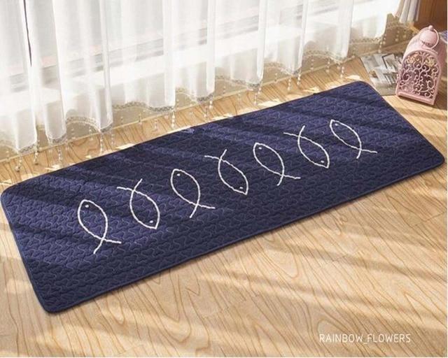 Tapijt Voor Keuken : Antislip cotton keuken mat wasbare hal gang vloer tapijt kinderen