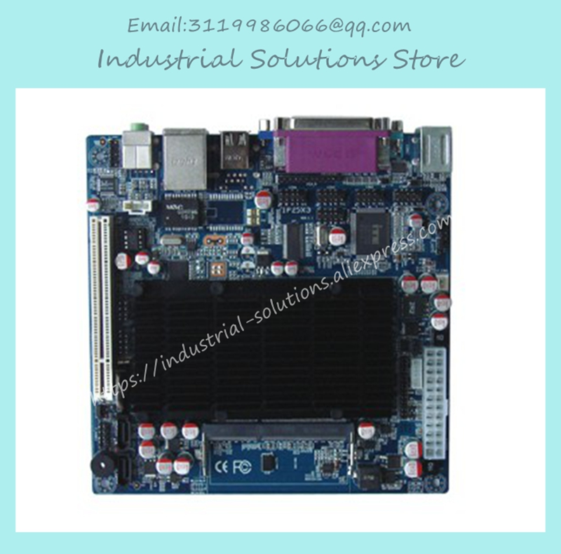 ITX-M42X61E D425 6com Dual Display Fan Mini-itx Industrial Motherboard 100% Tested Work Perfect m945m2 945gm 479 motherboard 4com serial board cm1 2 g mini itx industrial motherboard 100